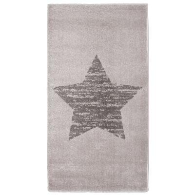tapis enfant lucero etoile gris 80 x 150 cm