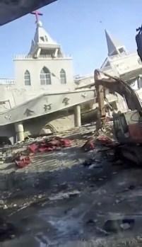 Kineske vlasti srušile crkvu