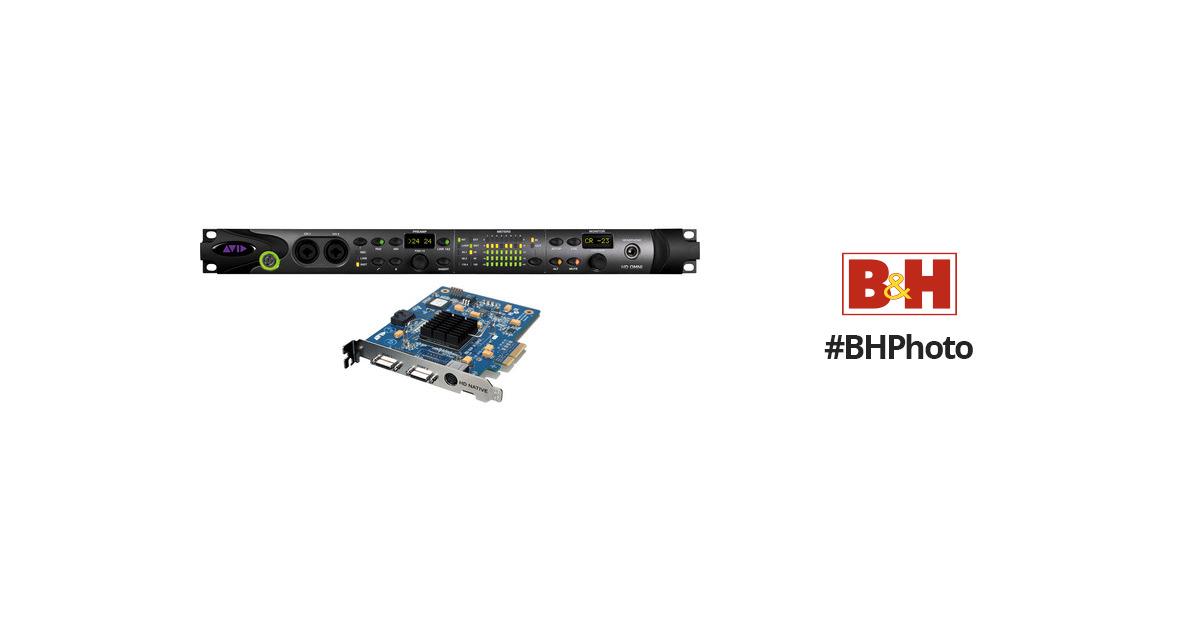 Avid Pro Tools HD Native PCIe Card and HD OMNI 9905-65004