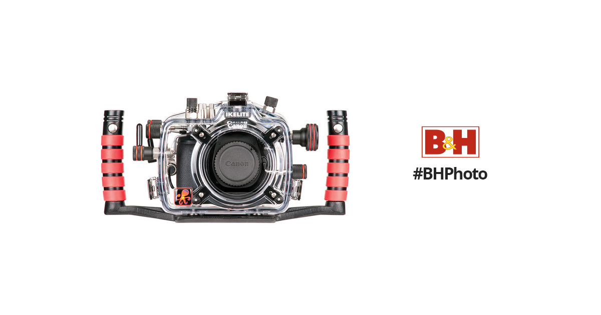 Ikelite Underwater Housing with TTL Circuitry for Can 6870.70