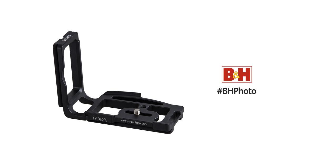Sirui TY-D800L L-Bracket Plate for Nikon D800 DSLR BSRTYD800L