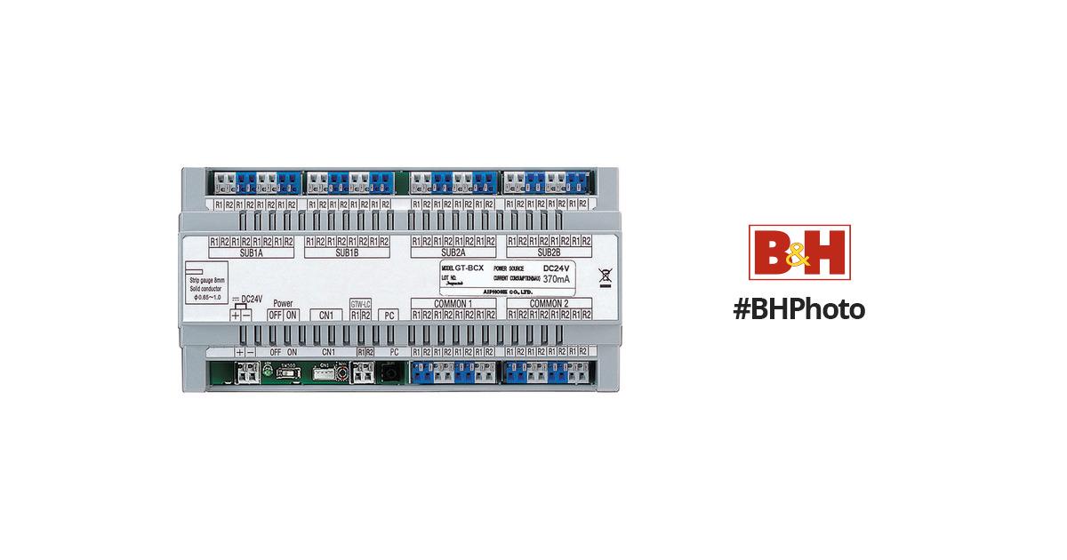 Aiphone GT-BCX Expanded Audio Bus Control Unit For GT GT