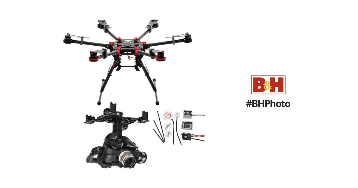 DJI Spreading Wings S900 with Zenmuse Z15-GH4 Gimbal