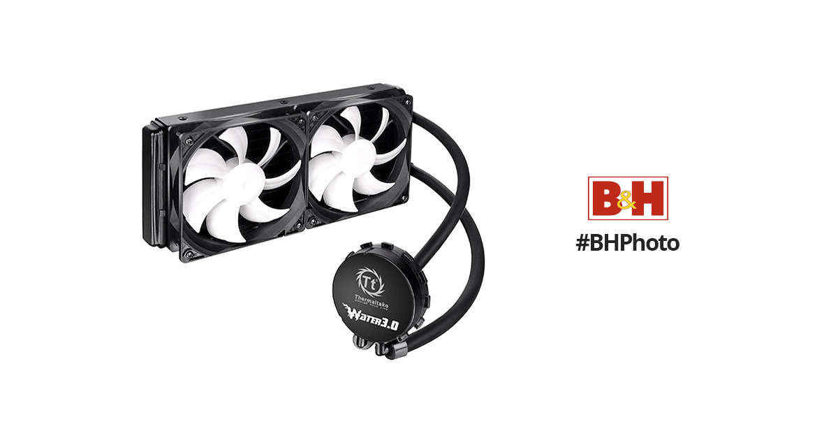 Thermaltake Water 3.0 Extreme Cooling Fan CLW0224-B B&H Photo