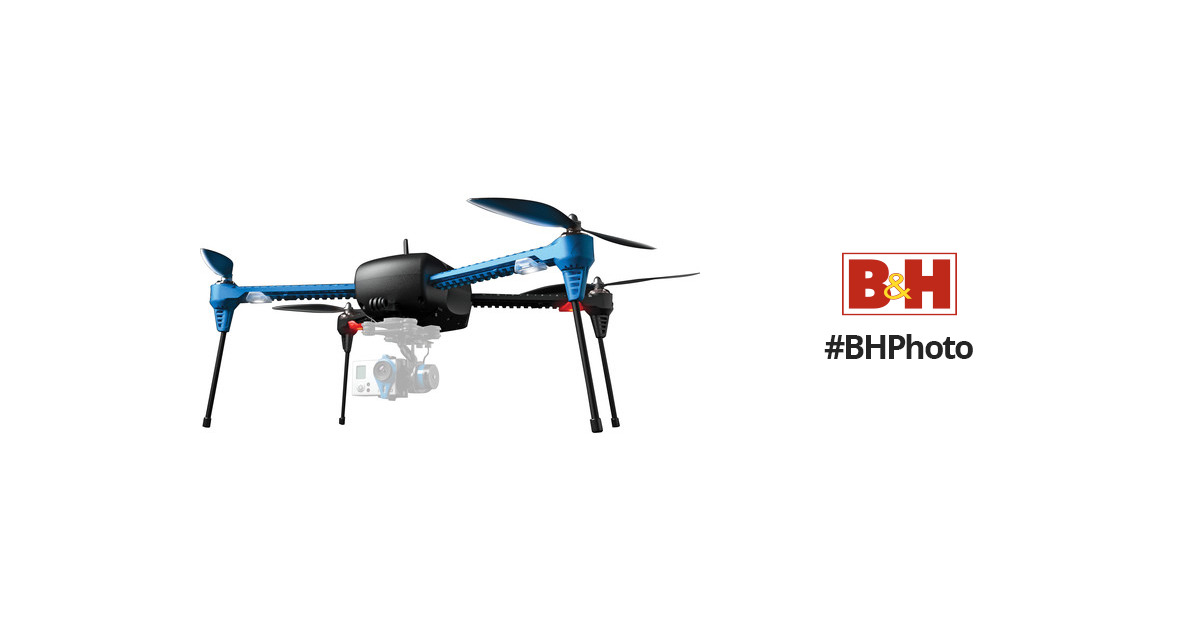 3DR IRIS+ Quadcopter with GoPro Mount (915 MHz, RTF