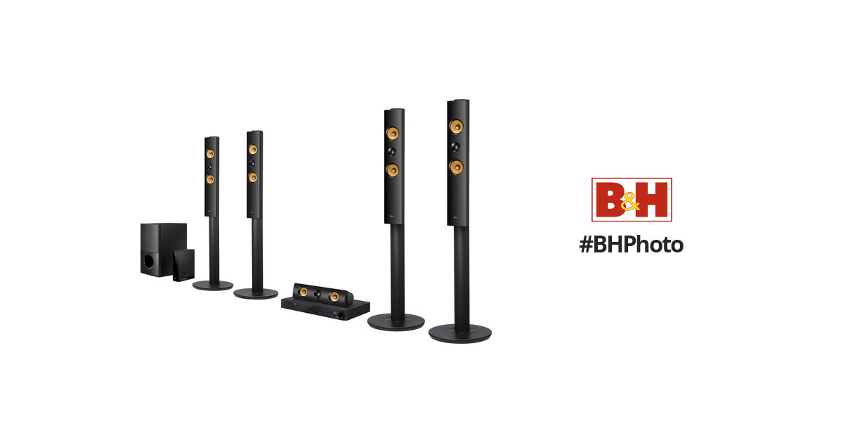 LG LHB755W 5.1-Channel 3D Smart Blu-ray Home Theater