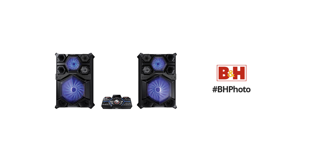 Samsung MX-JS9500 4000W Bluetooth Giga Sound System MX-JS9500