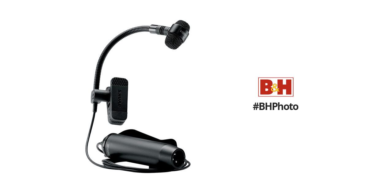 Shure PGA98H-XLR Clip-On Cardioid Condenser Horn Mic