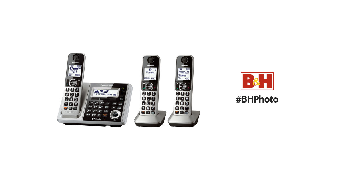 Panasonic KX-TGF372S Link2Cell Bluetooth Cordless KX