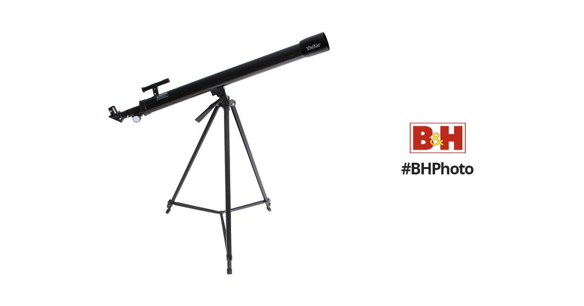 Vivitar Tell-600X 50mm f/16 Alt-Az Refractor VIV-TEL-600X B&H