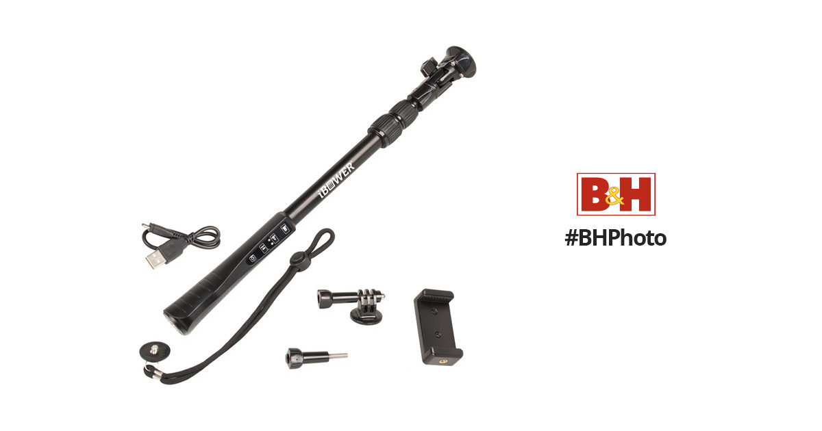 Bower High-Impact Selfie Stick for iOS and Android IBO