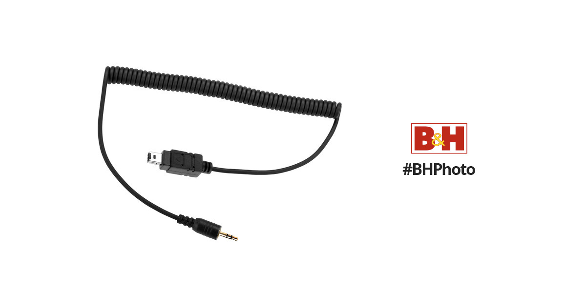 Impact Shutter Release Cable for Nikon Cameras RSC-N2-25 B&H