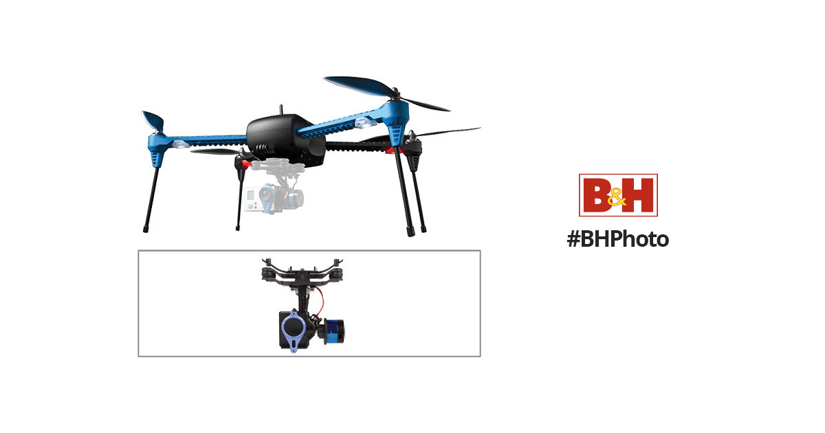 3DR 3DR IRIS+ Quadcopter with Gimbal and Battery Kit B&H Photo