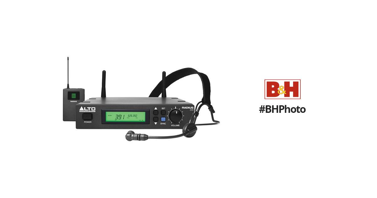 Alto Professional Radius 200 Professional UHF RADIUS 200H B&H