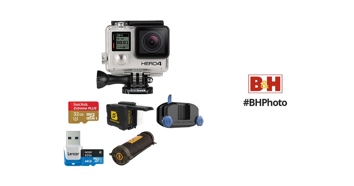 GoPro HERO4 Black Camping Kit B&H Photo Video
