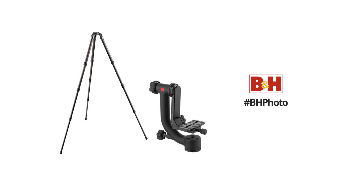 Gitzo GT3542XLS Series 3 Carbon Fiber Tripod with Oben GH