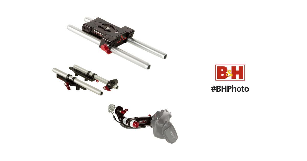 SHAPE Baseplate Kit for Sony FS5/FS5M2 Camera FS5BASEKIT B&H