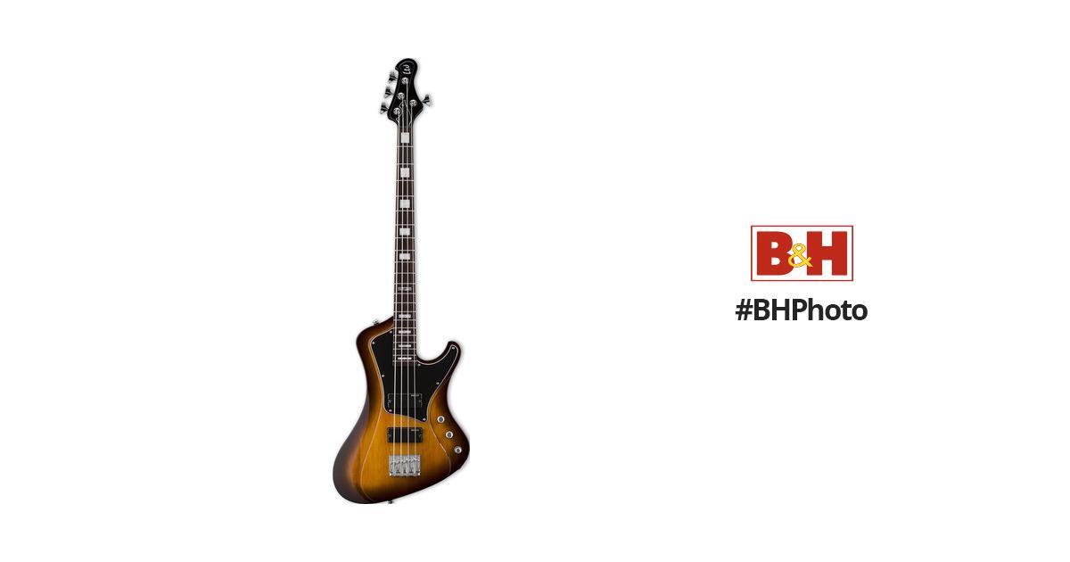 ESP LTD Stream-204 Electric Bass (Tobacco Sunburst)