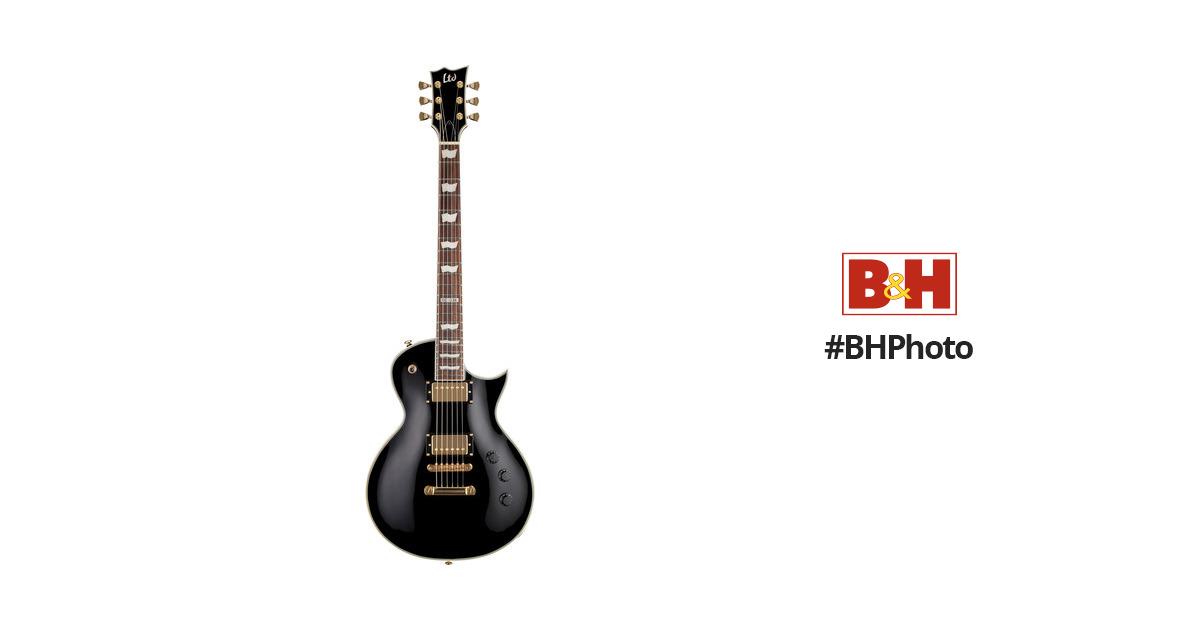 ESP LTD EC-256 Electric Guitar (Black) LEC256BLK B&H Photo