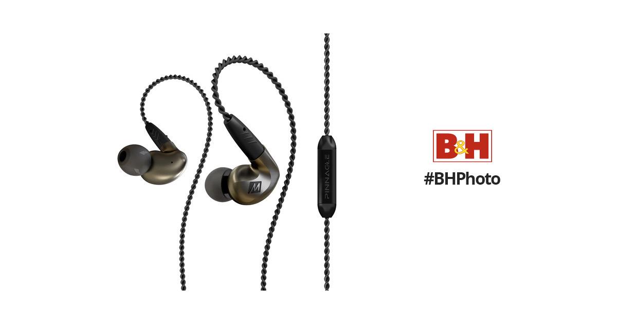 MEE audio Pinnacle P1 High Fidelity Audiophile EP-P1-ZN