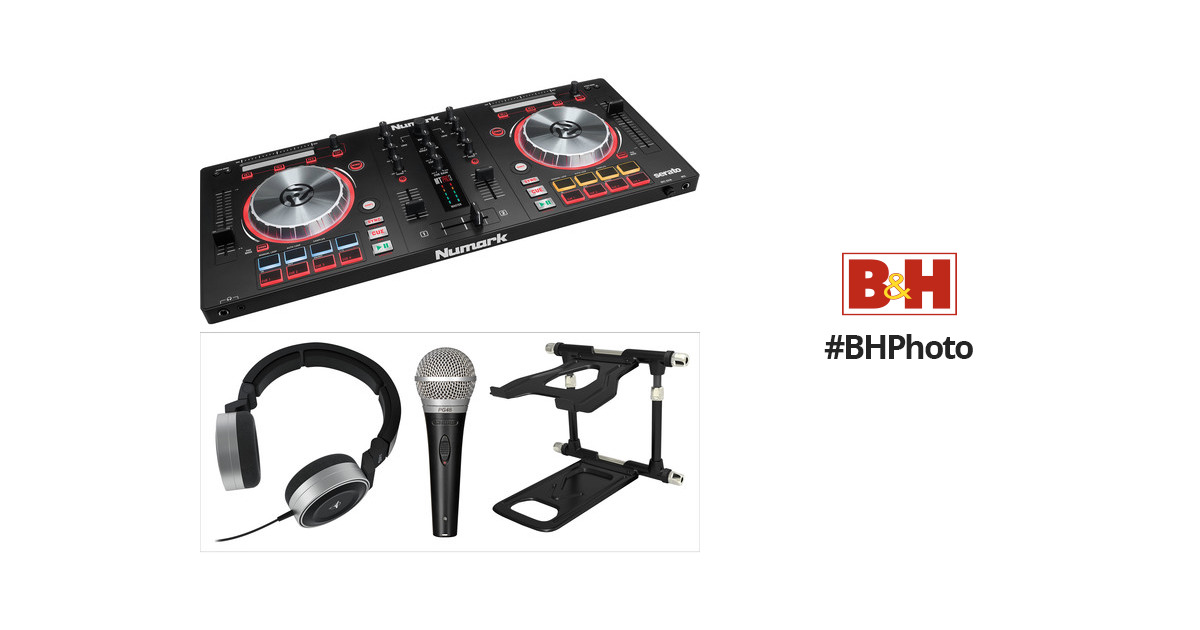 Numark Mixtrack Pro 3 Controller Kit with Stand