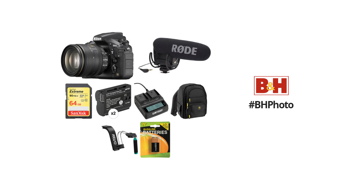 Nikon D810 DSLR Camera with 24-120mm Lens Video Kit B&H Photo