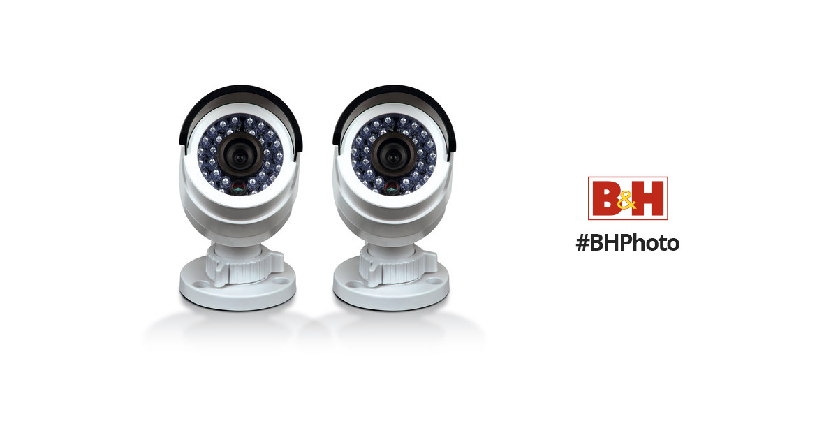 Swann 3MP Outdoor Bullet Camera (Pack of 2) CONHD-B3MPB2