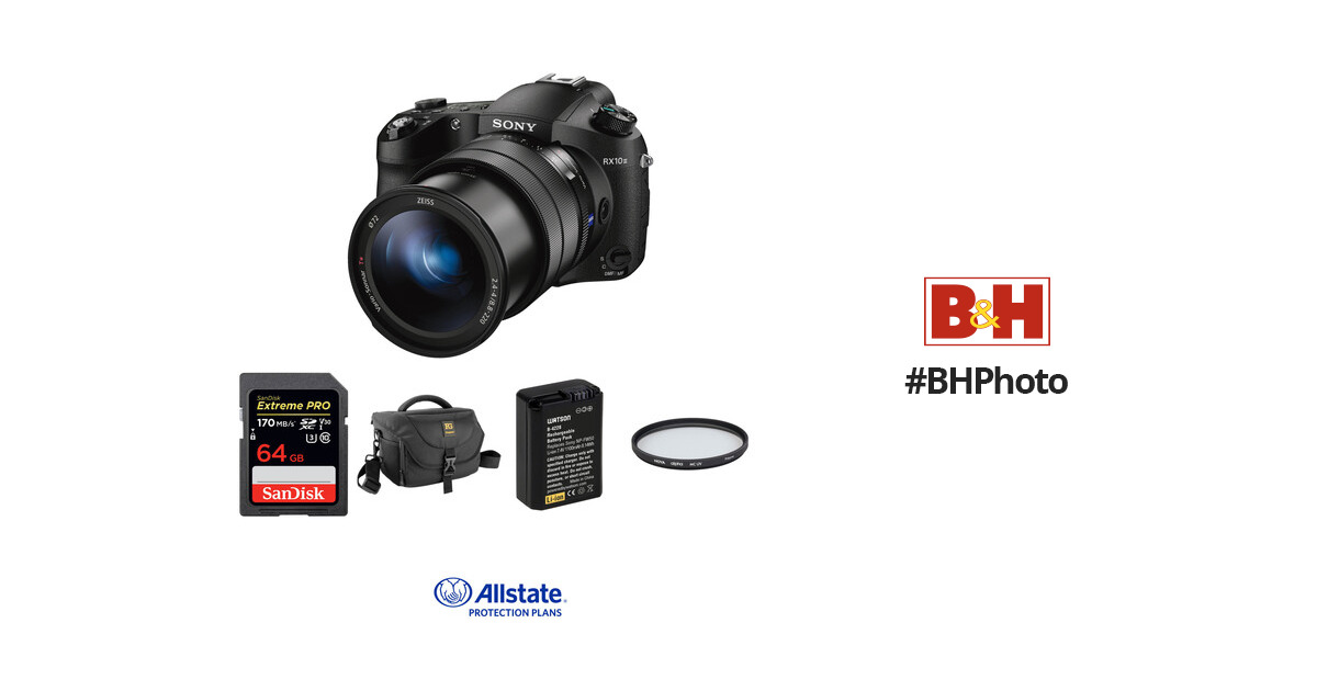 Sony Cyber-shot DSC-RX10 III Digital Camera Deluxe Kit B&H