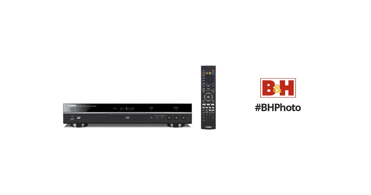 Yamaha BD-S681 4K Upscaling Wi-Fi and 3D Blu-ray Disc BD
