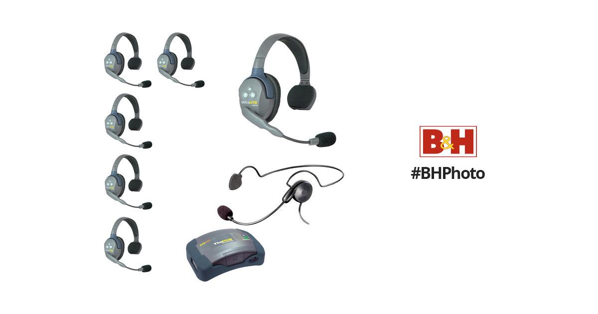 Eartec HUB7SCYB UltraLITE 7-Person HUB Intercom System