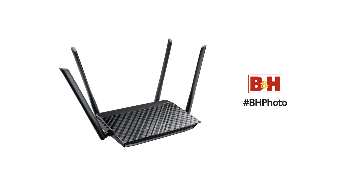 ASUS RT-1200 AC1200 Wireless Dual-Band Router RT-AC1200 B&H