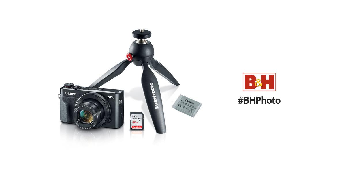 Canon PowerShot G7 X Mark II Digital Camera Video 1066C029 B&H