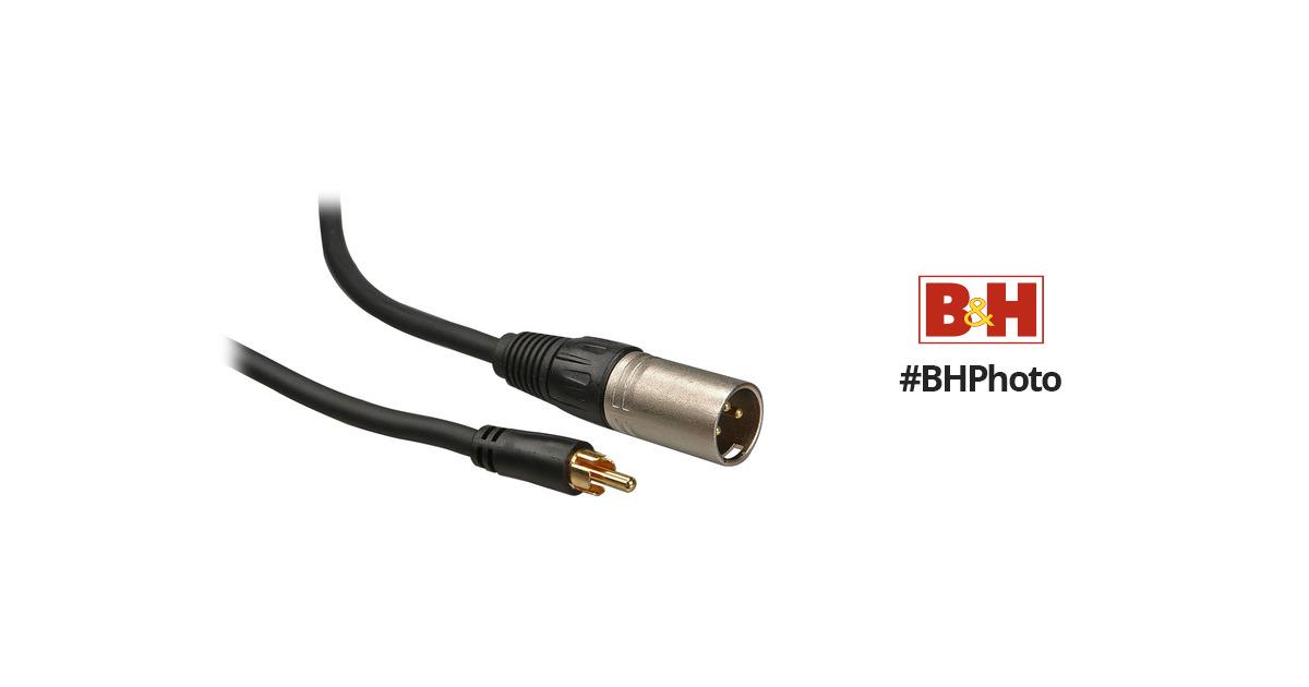 Comprehensive Standard Series 3-Pin XLR Male to RCA XLRP