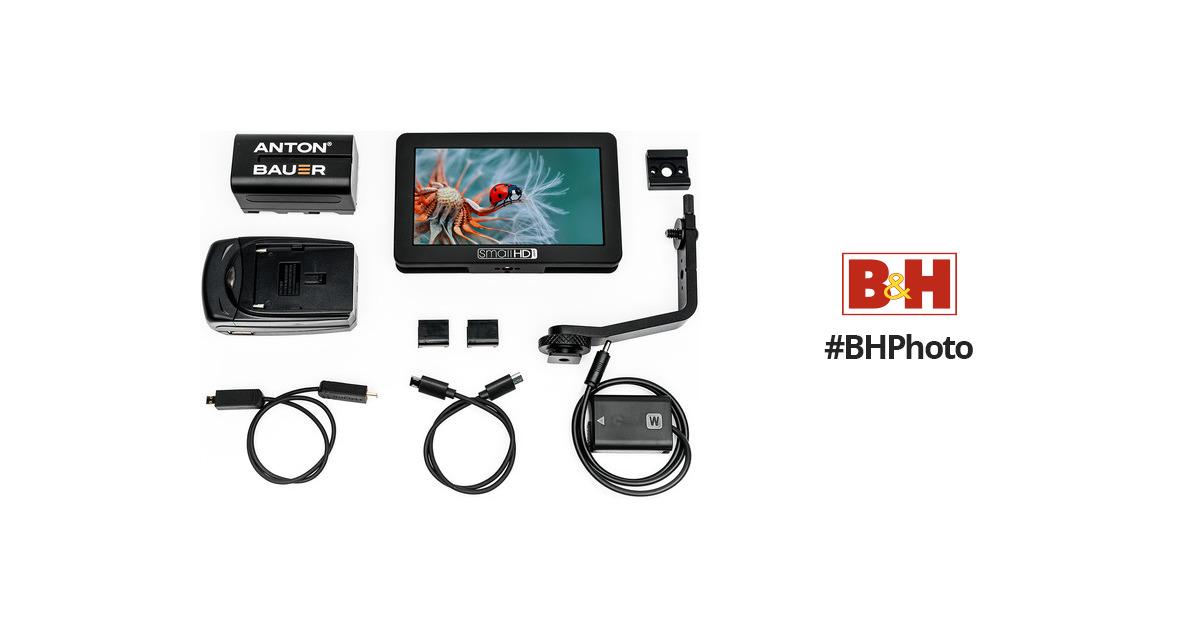 SmallHD FOCUS Sony Bundle MON-FOCUS-NPFW50-KIT B&H Photo Video