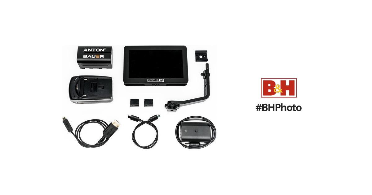 SmallHD FOCUS Panasonic Bundle MON-FOCUS-DMWBLF19-KIT B&H