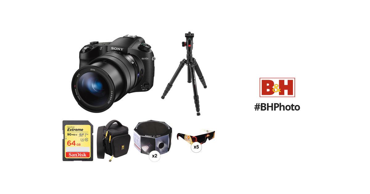 Sony Cyber-shot DSC-RX10 III Digital Camera Solar Eclipse Kit