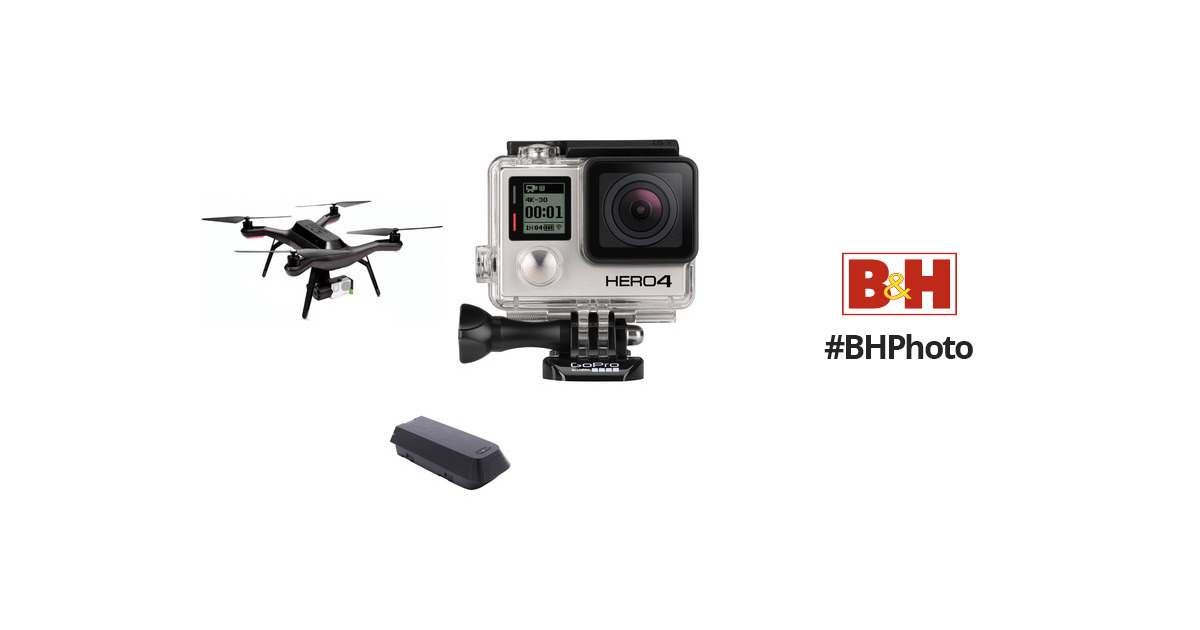 3DR Solo Quadcopter Kit with 3-Axis Gimbal & GoPro HERO4 B&H