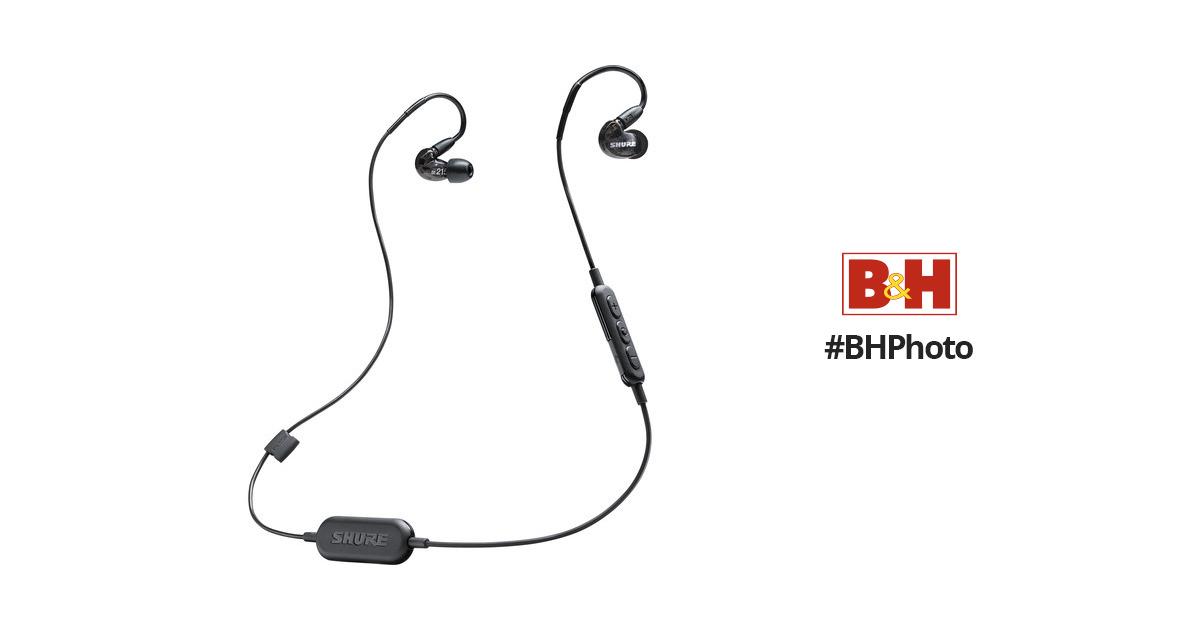 Shure SE215-BT1 Sound-Isolating Earphones SE215-K-BT1 B&H