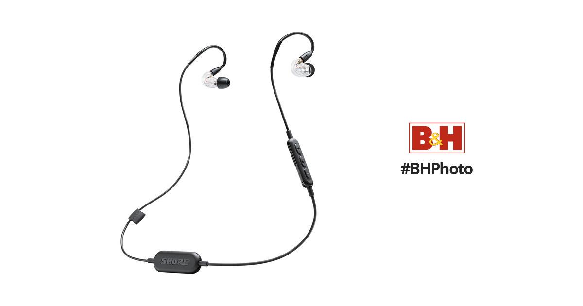 Shure SE215-BT1 Sound-Isolating Earphones SE215-CL-BT1 B&H