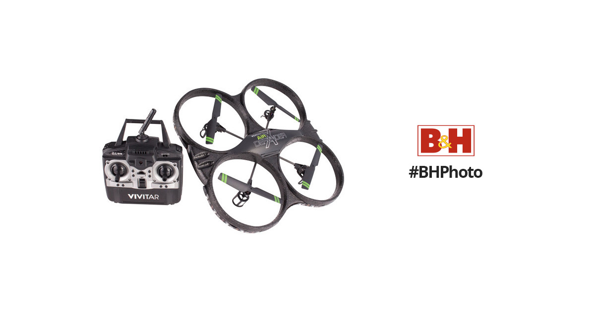 Vivitar DRC-333 Air Defender Drone with 16.1MP Camera and