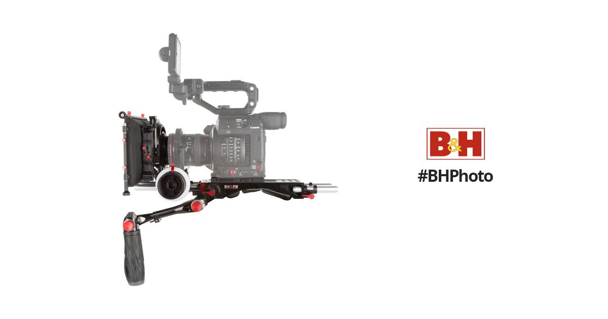 SHAPE Canon C200 Camera Bundle Rig with Follow Focus Pro C2KIT