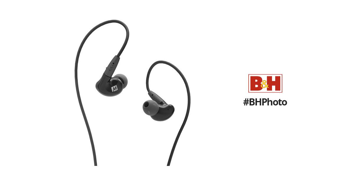 MEE audio Pinnacle P2 In-Ear Headphones EP-P2-BK-MEE B&H Photo