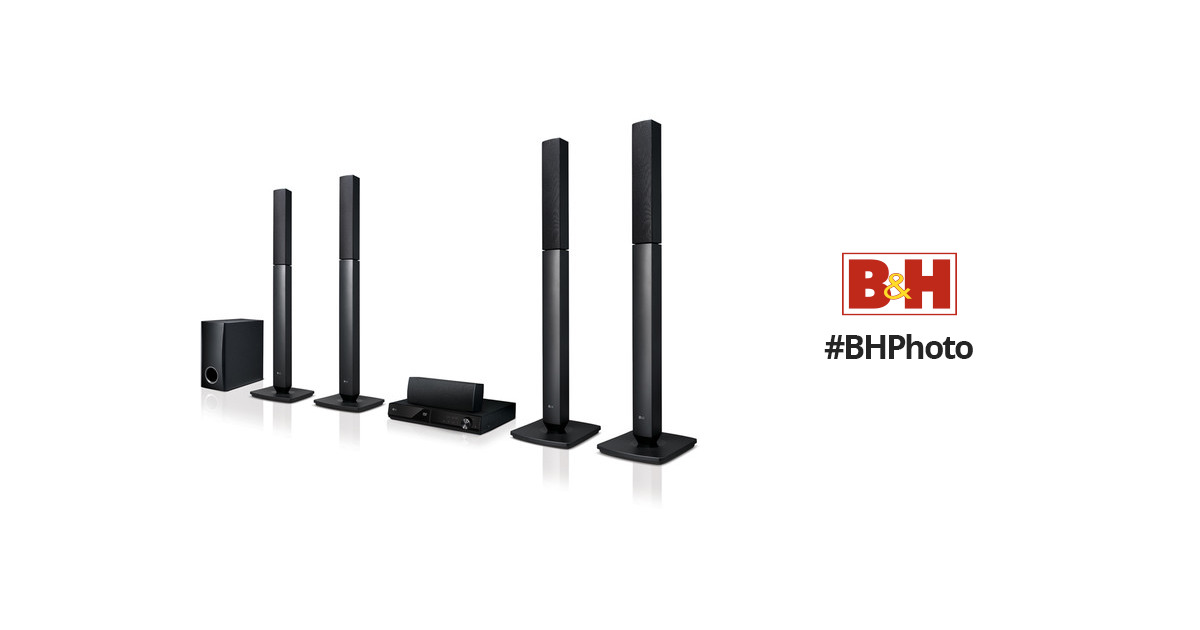LG LHD457 5.1-Channel Region-Free DVD Home Theater System