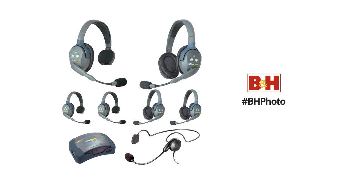 Eartec HUB733CYBAU UltraLITE 7-Person HUB Intercom HUB733CYBAU