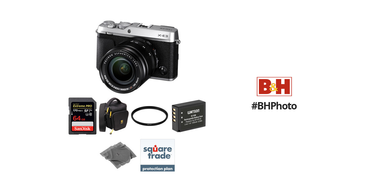 FUJIFILM X-E3 Mirrorless Digital Camera with 18-55mm Lens