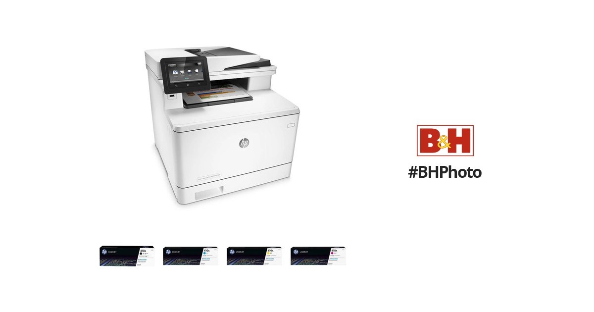 HP Color LaserJet Pro M477fdn All-in-One Printer with