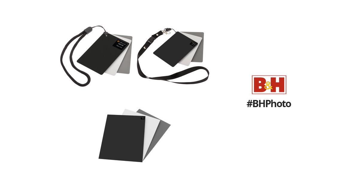 Vello White Balance Card Sets (Small, Medium, and Large) B&H