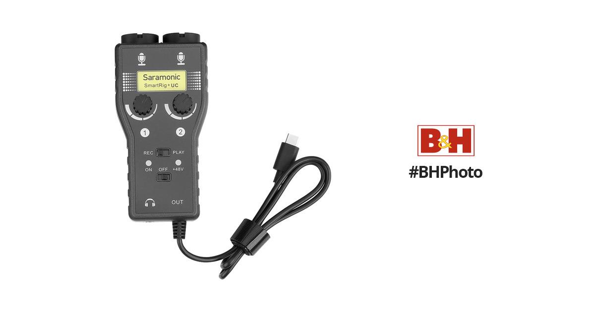 Saramonic SmartRig+UC Two-Channel Audio Interface SMARTRIG+UC