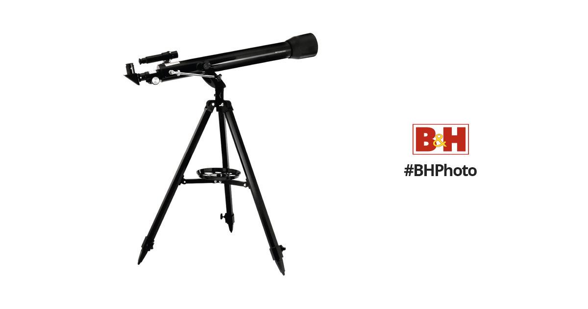 Polaroid 60700 60mm f/12 Refractor Telescope IT-525X-RFR B&H