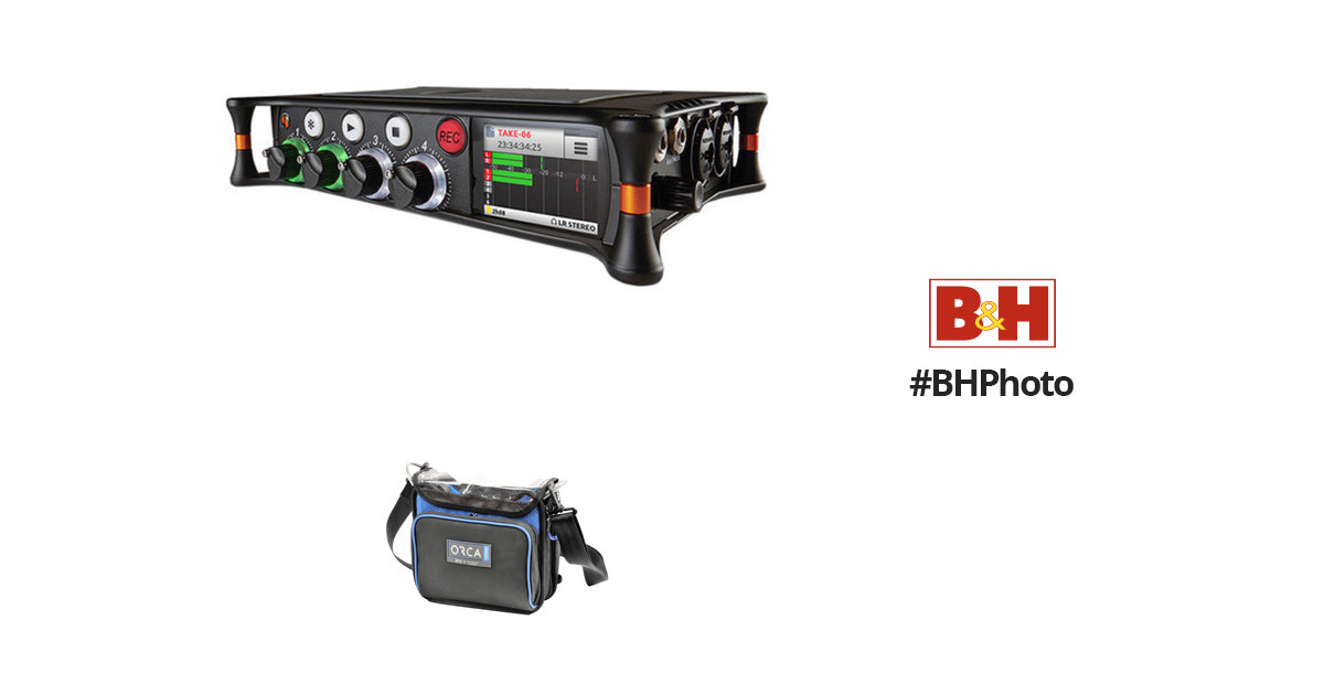 Sound Devices MixPre-6 Audio Recorder/Mixer and USB Interface